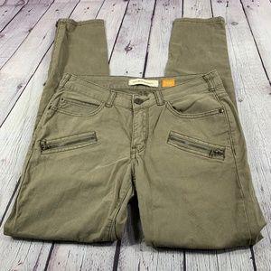 Pilcro and the Letterpress Skinny Khaki Pants 27